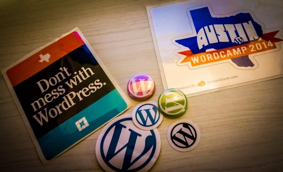 WordCamp Austin 2014 Schwag