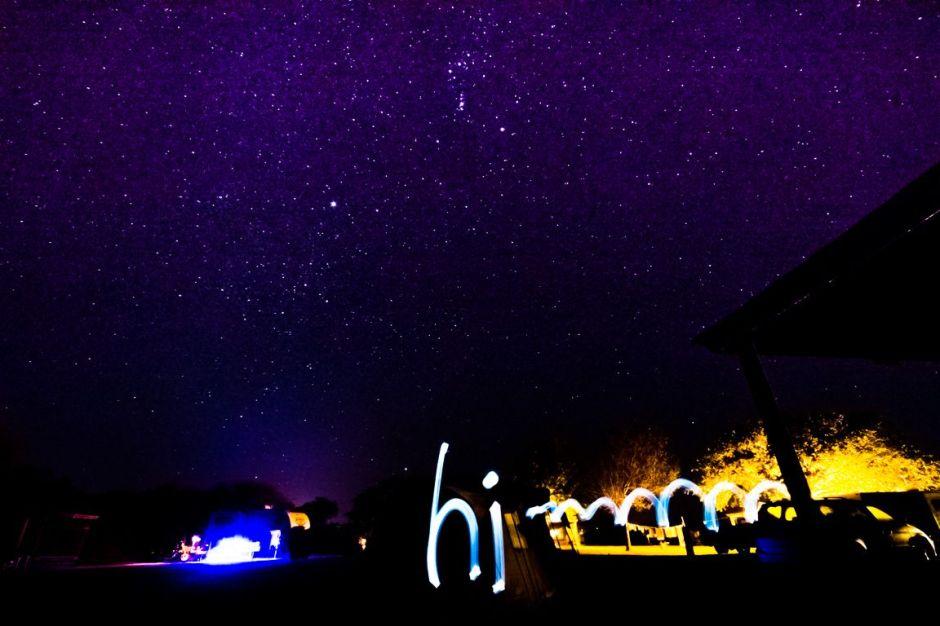 Writing with Light, Choke Canyon State Park, 2014