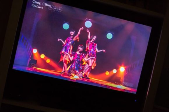 Perfume Performing at Kouhaku