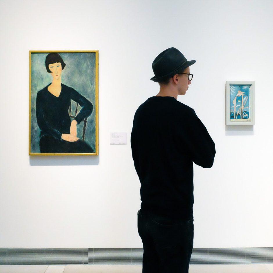 Modigliani and Picasso