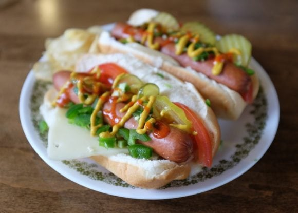 Deluxe Hot Dog