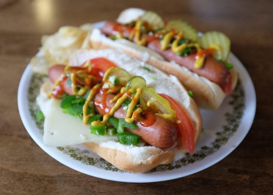 Deluxe Hot Dogs