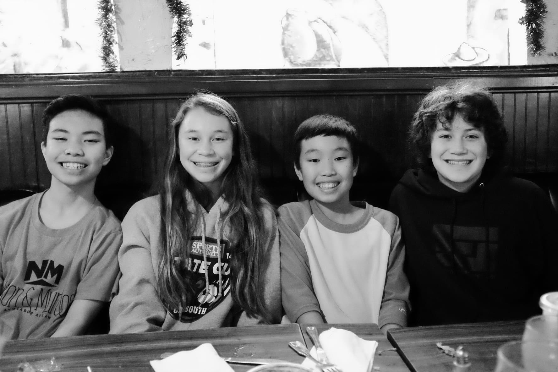 """""""4 Cousins"""" USA. California. 2015."""