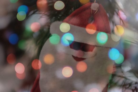 """Christmas Double-exposure"" USA. California. 2015."