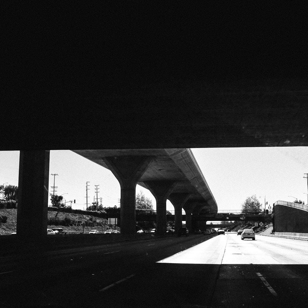 """Freeway"" USA. California. Los Angeles. 2015."