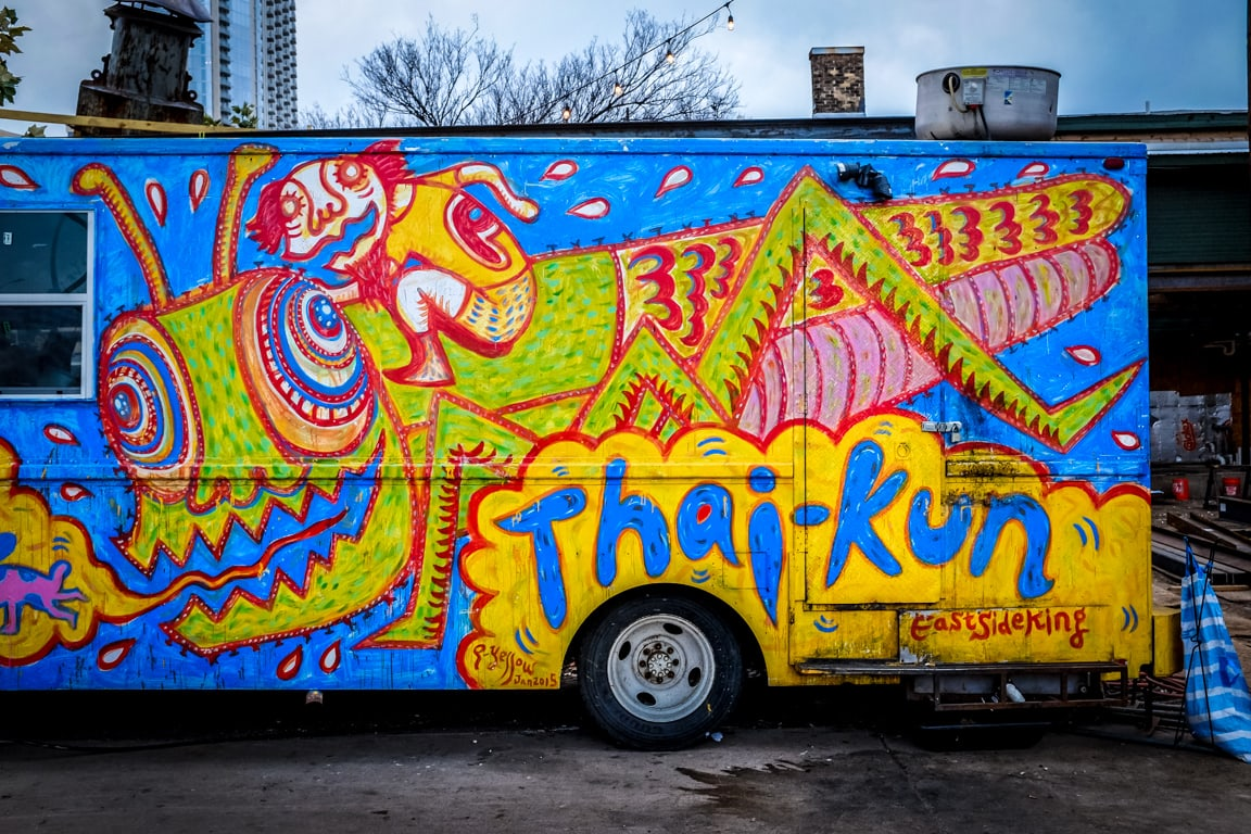 """Food Truck"" USA. Texas. Austin. 2016."