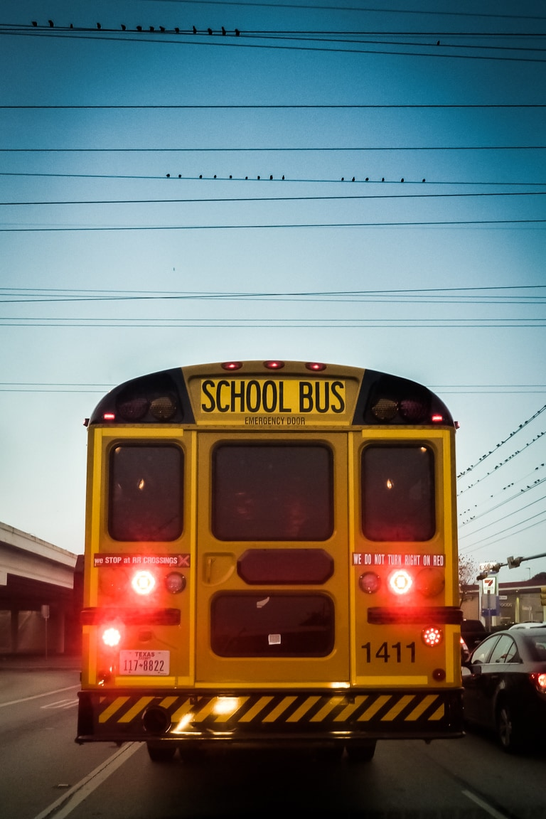 """Back to School"" USA. Texas. Austin. 2016."