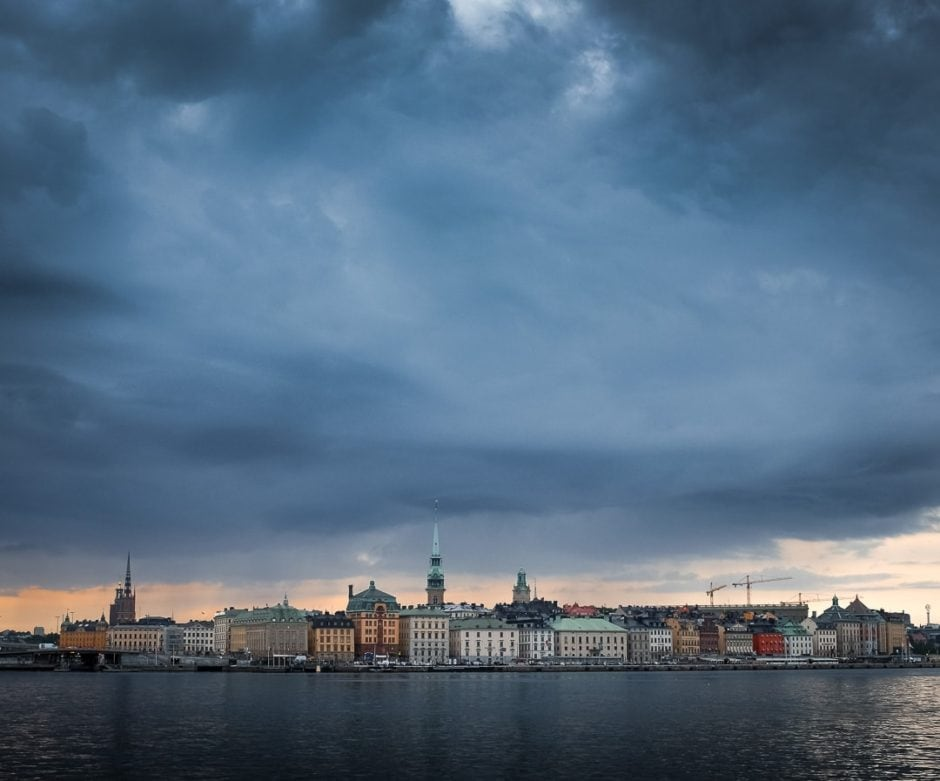 """Cloudy Skies"" SWEDEN. Stockholm. 2015."