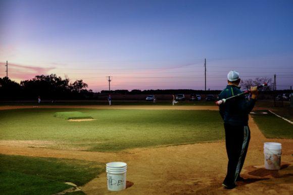 """Baseball Practice"" USA. Texas. Leander. 2016."