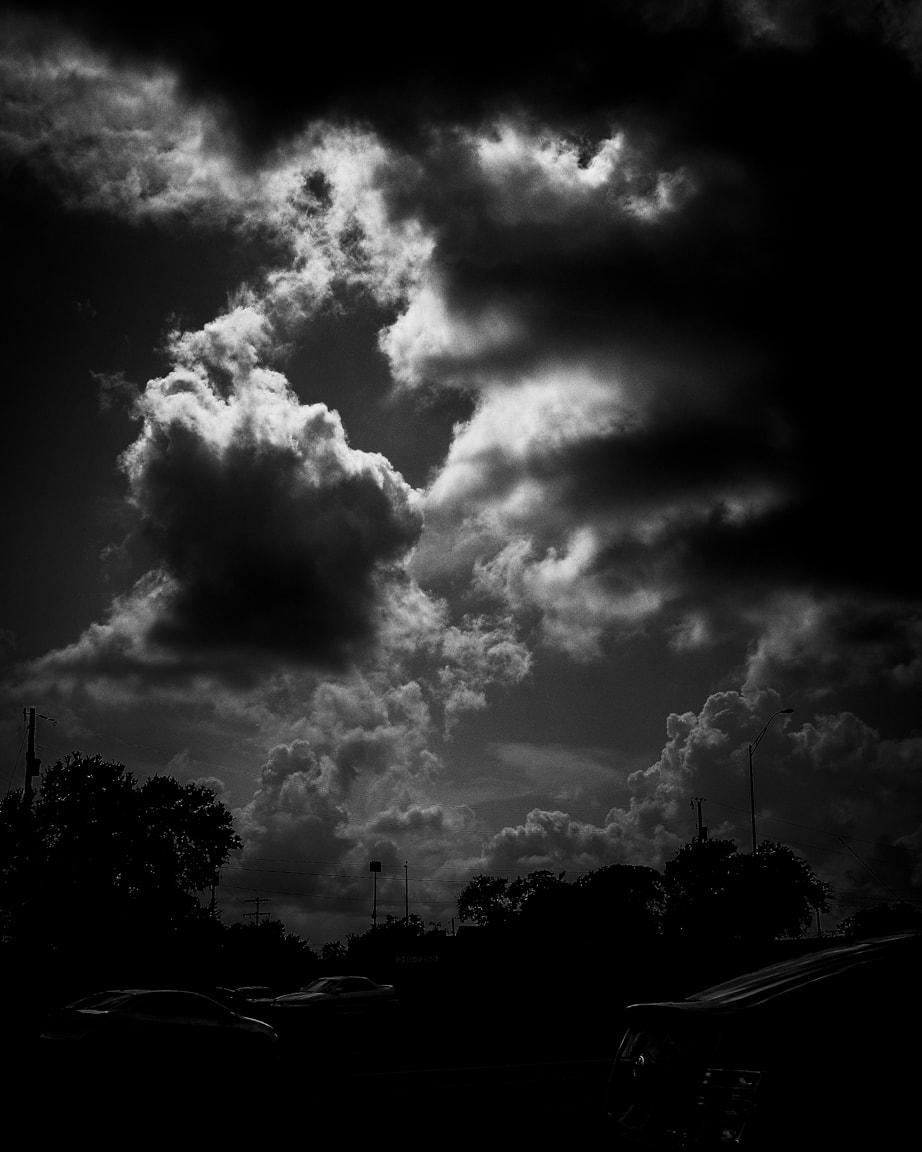 """Moody Clouds"" Cedar Park, 2016"