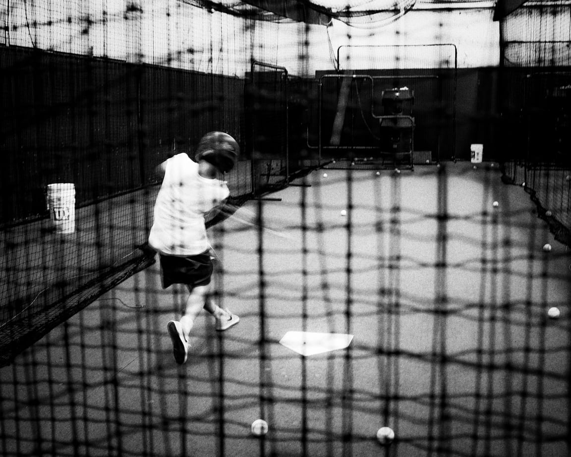 """At the Cages"" Cedar Park, 2016"