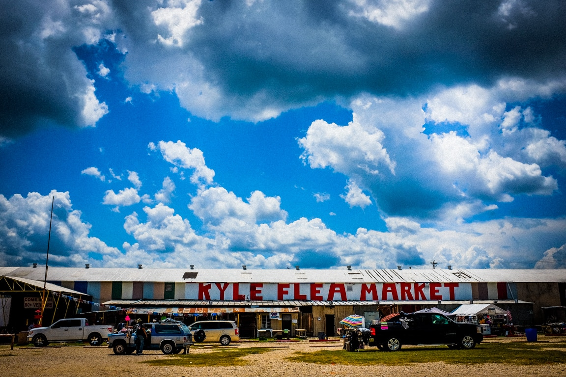 """At the Flea Market"" Kyle, 2016"