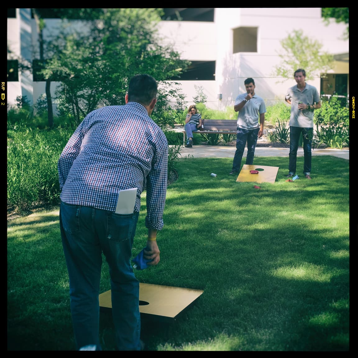 """Bean-bag Toss"" Austin, 2016"