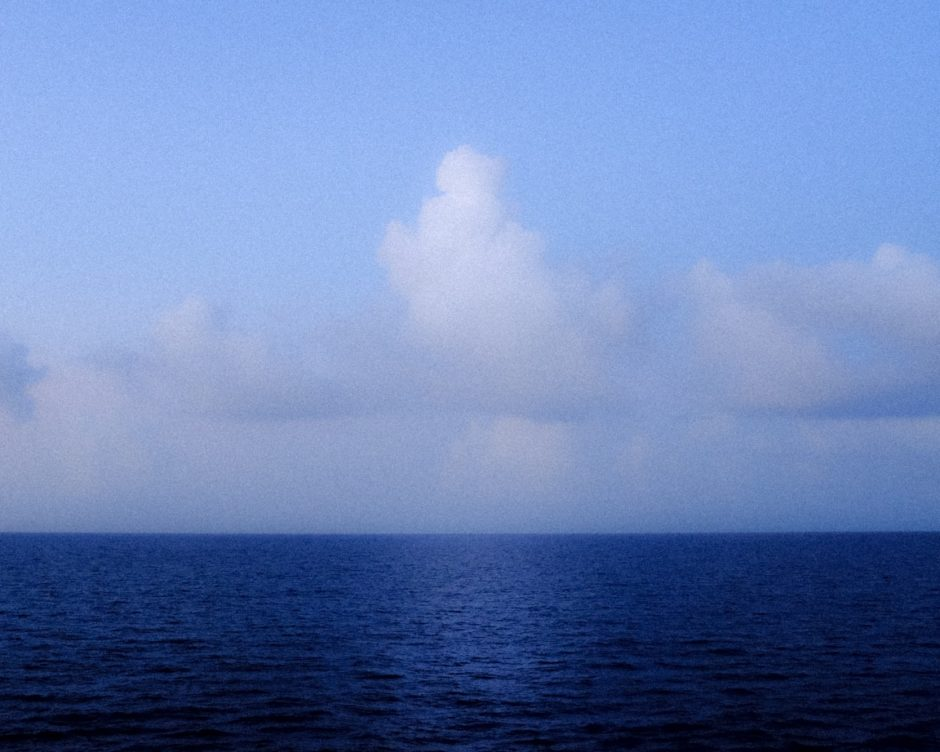 """Distant Clouds"" Atlantic Ocean, 2016"