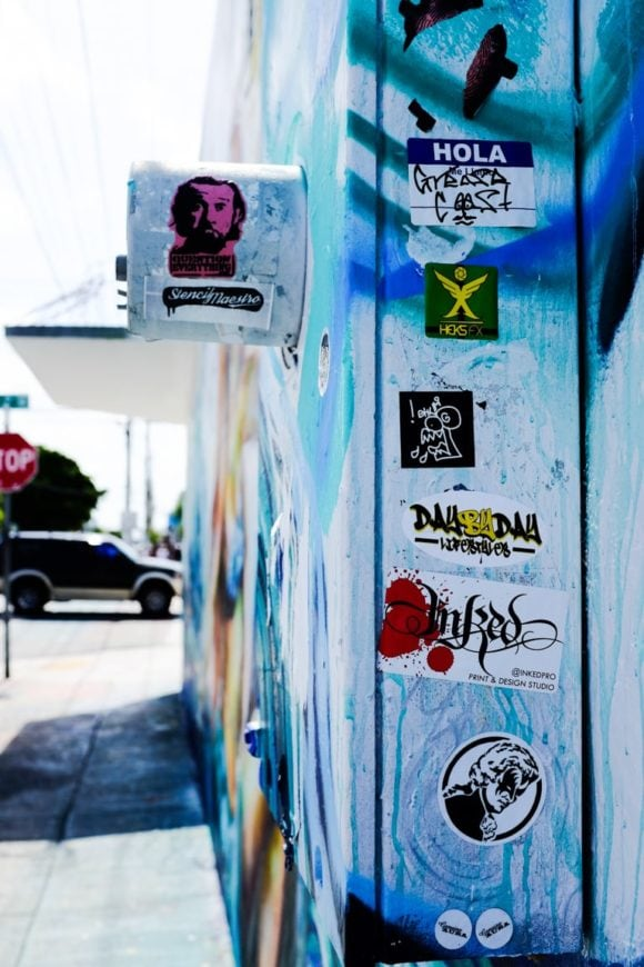 """Stickers"" Miami, 2016"