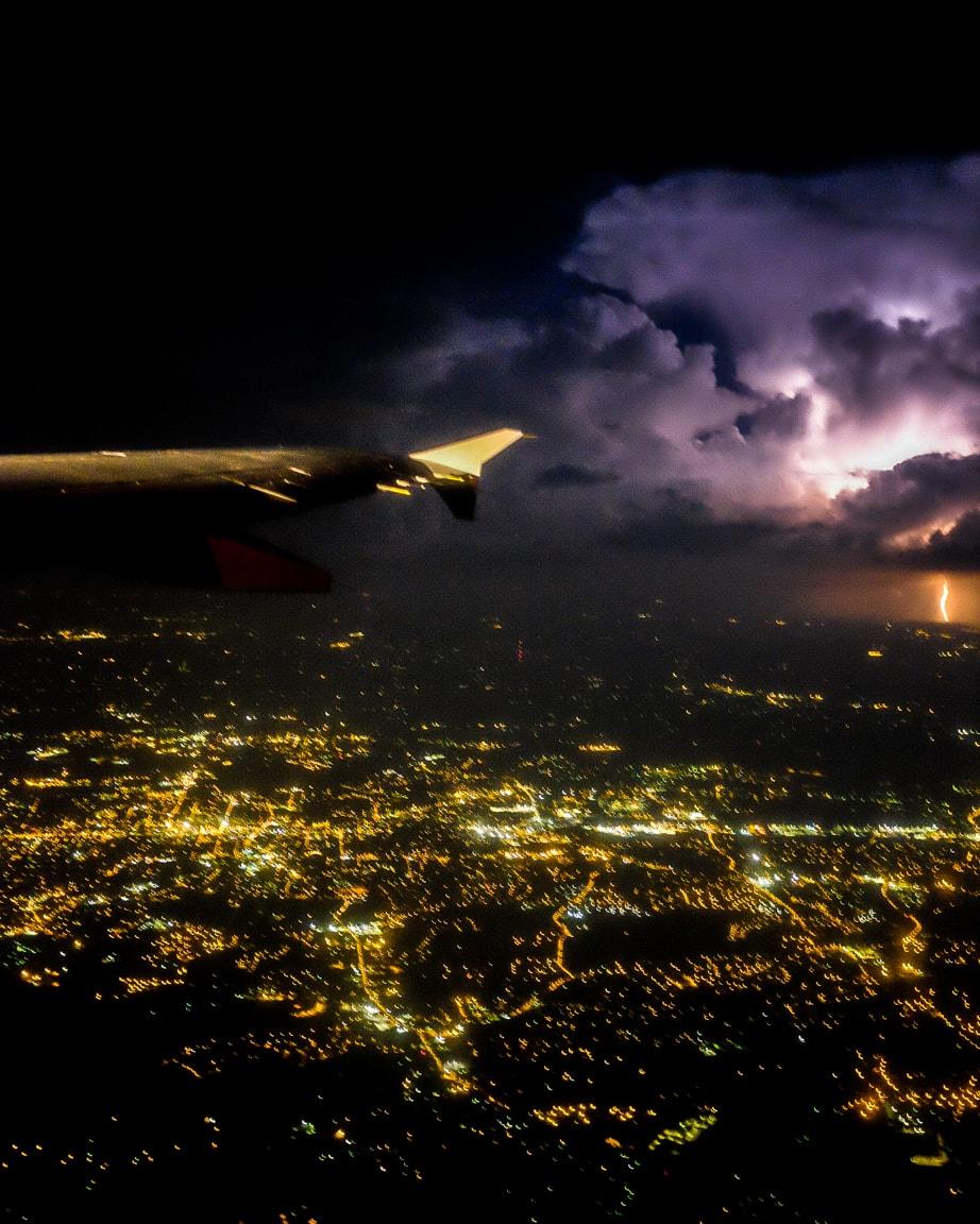 """Distant Lightning"" Charlotte, 2016"
