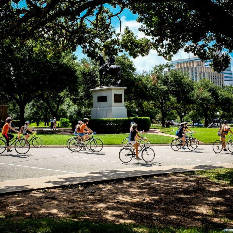 """Bicycle Tour"" Austin, 2016"