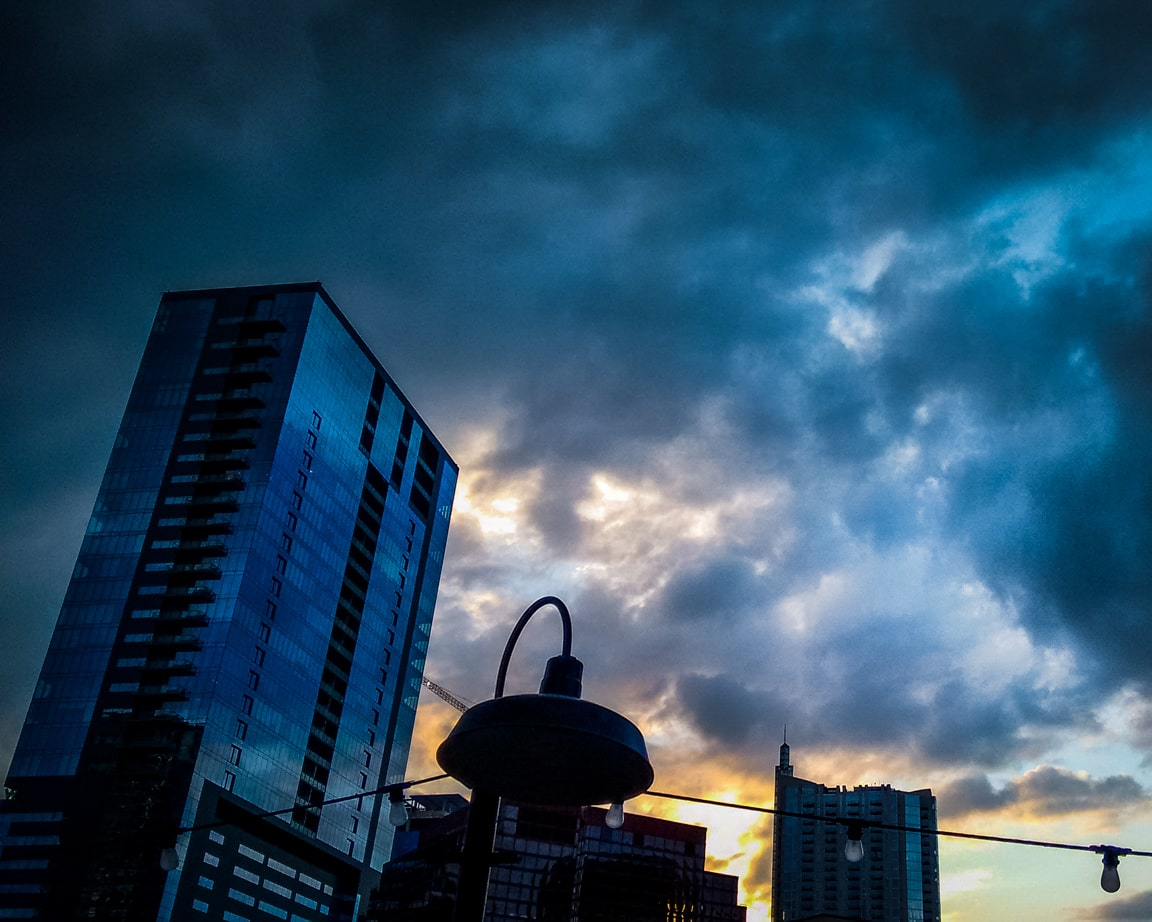 """Austin Clouds"" Austin, 2016"