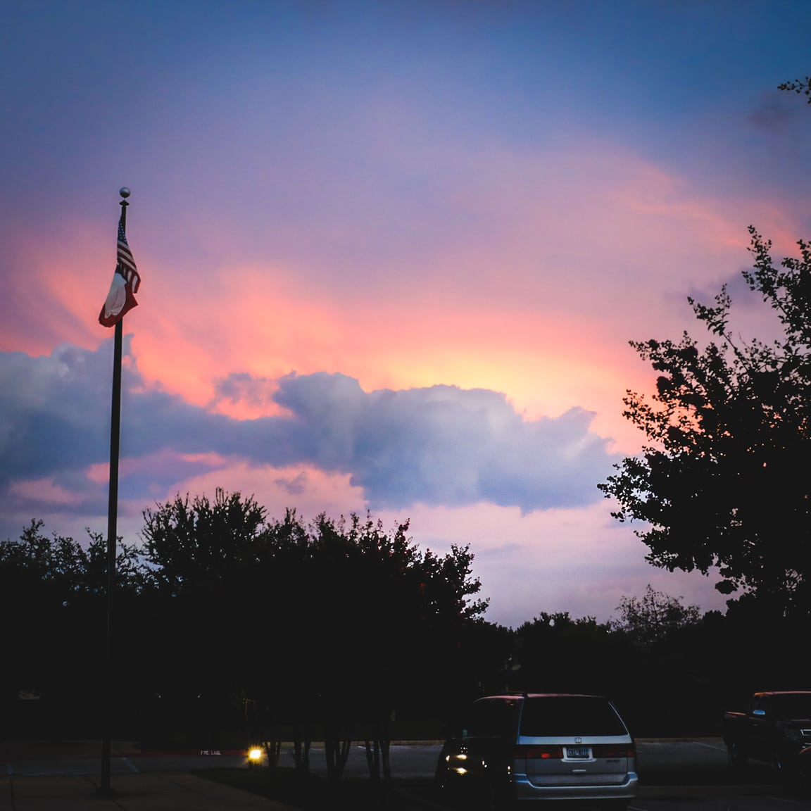 """Sunset"" Cedar Park, 2016"