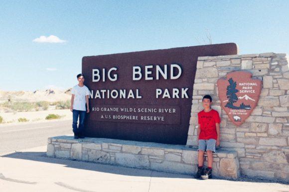 """Arrival"" Big Bend, 2016"