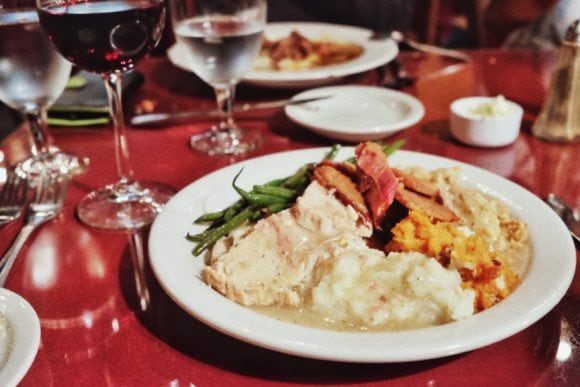 """""""Thanksgiving Dinner"""" Fort Davis, 2016"""