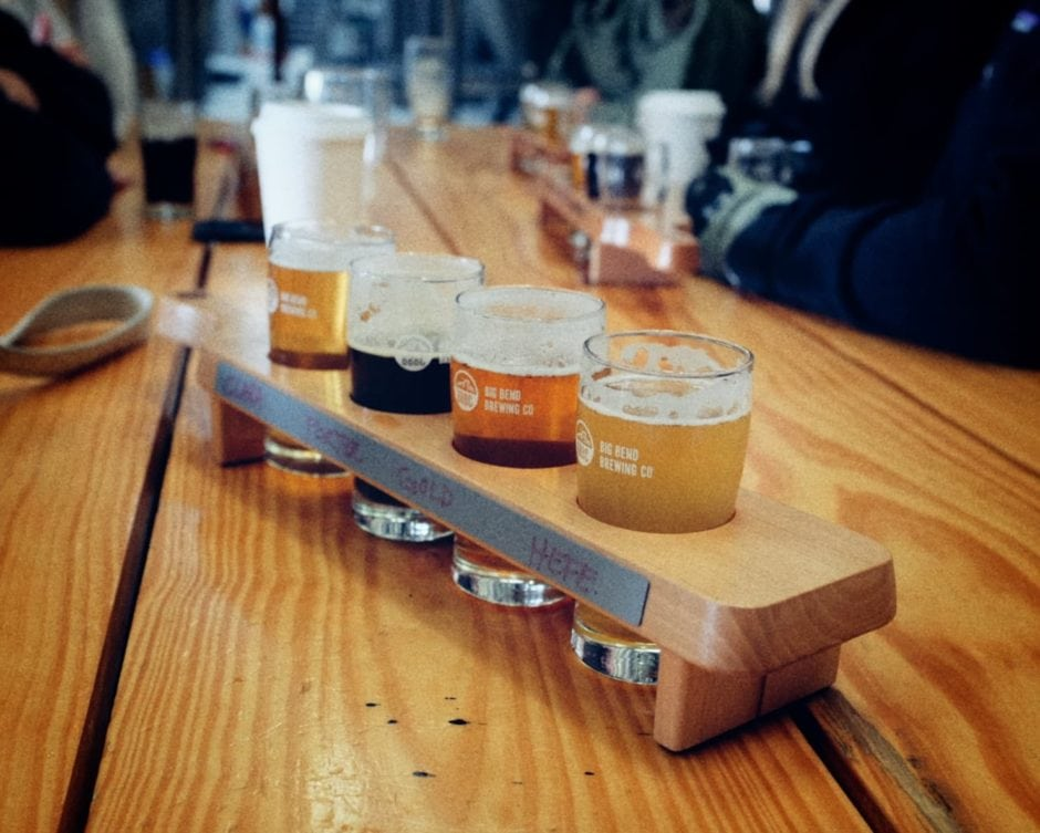 """Big Bend Brewery"" Alpine, 2016"