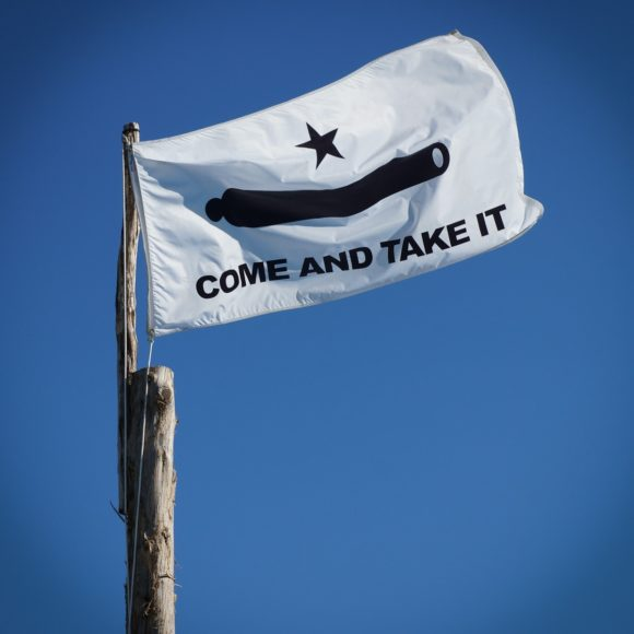 """Come and Take It"" Austin, 2012"
