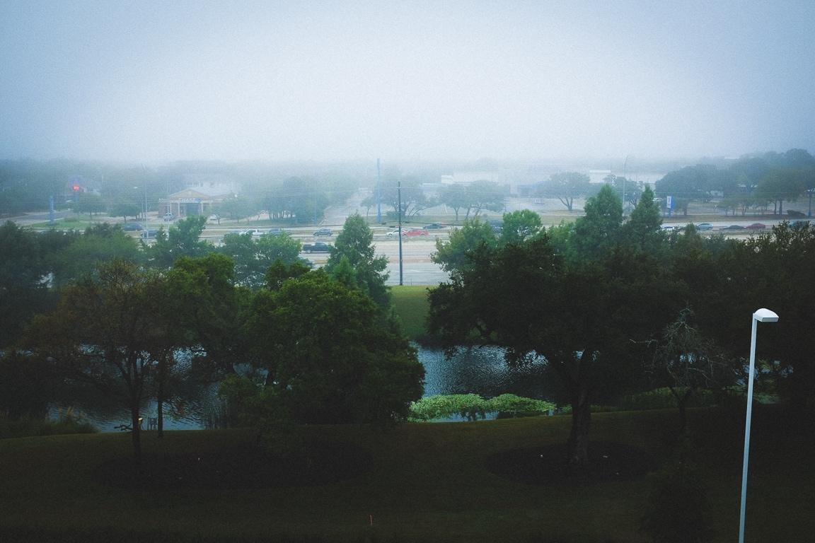 """""""Misty Morning"""" Austin, 2016"""