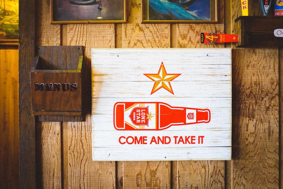 """""""Beer Sign"""" Austin, 2016"""