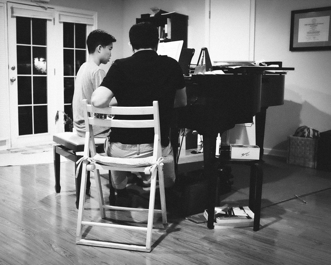 """Piano Lessons"" Austin, 2016"