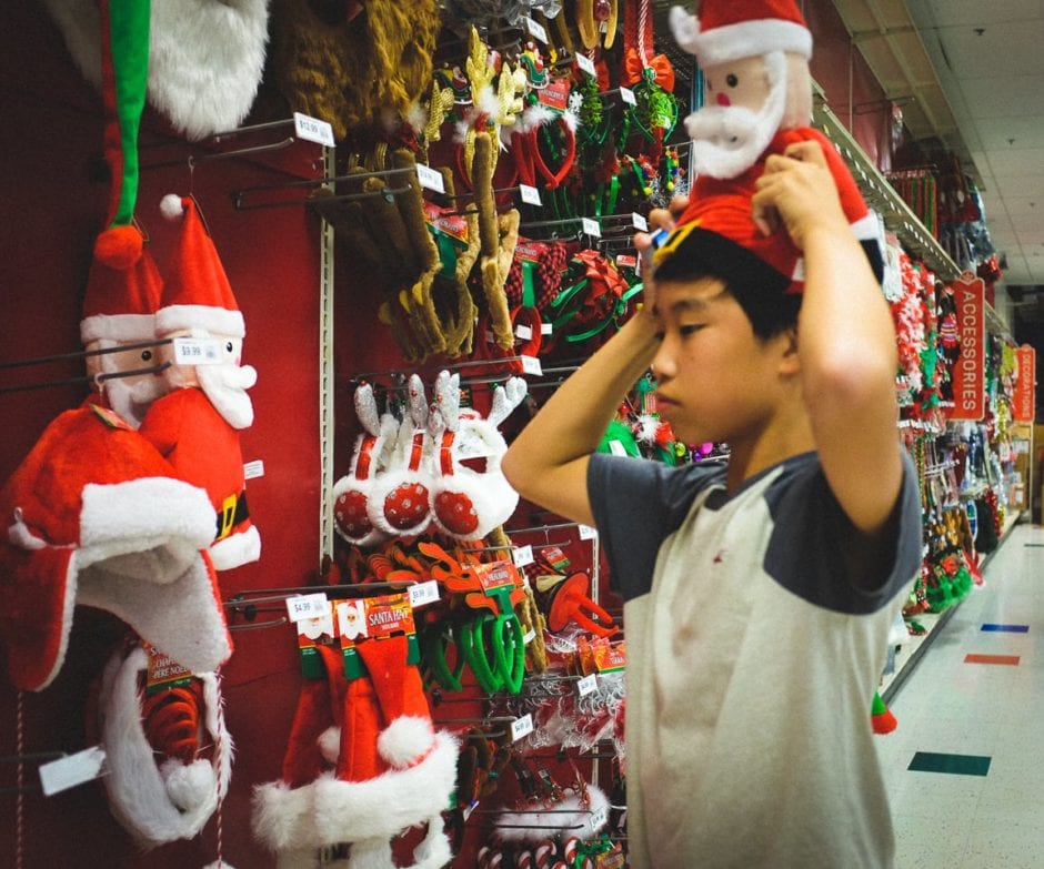 """Hat Shopping"" Austin, 2016"