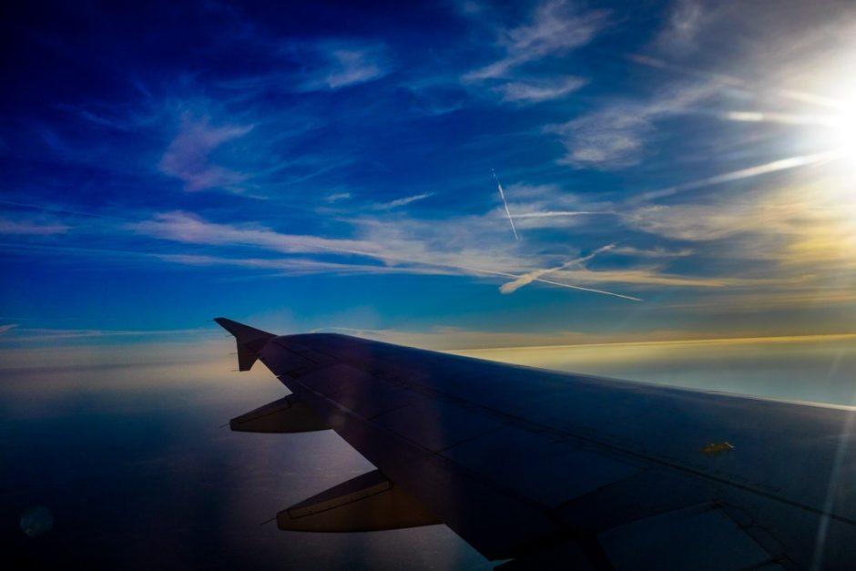 """""""Evening Sky"""" Over Texas, 2016"""