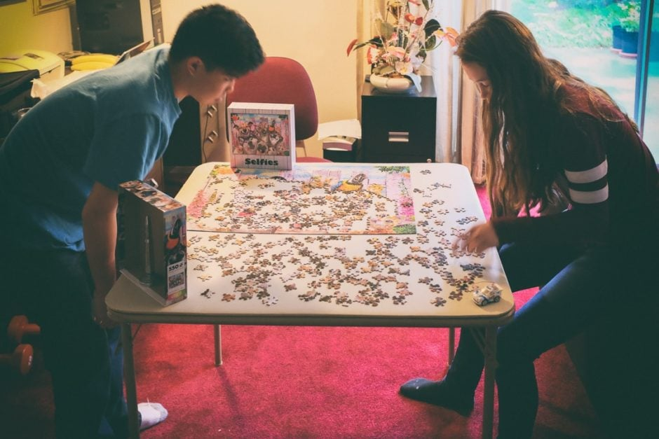 """""""Puzzle Time"""" Torrance, 2016"""