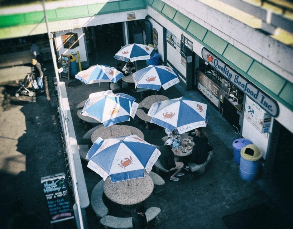 """""""Lunch Spot"""" Redondo Beach, 2016"""