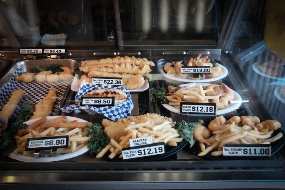 """Fried Seafood"" Redondo Beach, 2016"