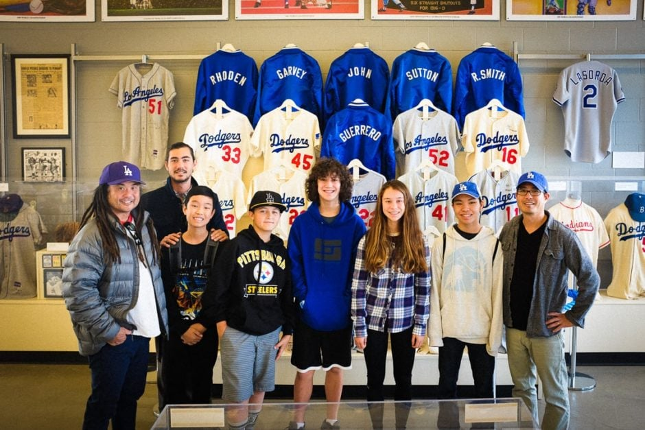 """Visiting the Dodgers Museum"" Los Angeles, 2016"