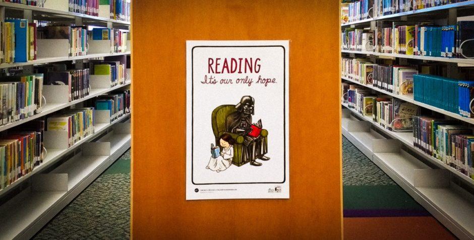 """""""At the Library"""" Cedar Park, 2017"""