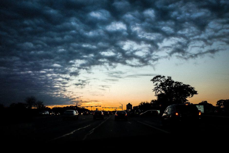 """""""Strange Clouds"""" Cedar Park, 2017"""