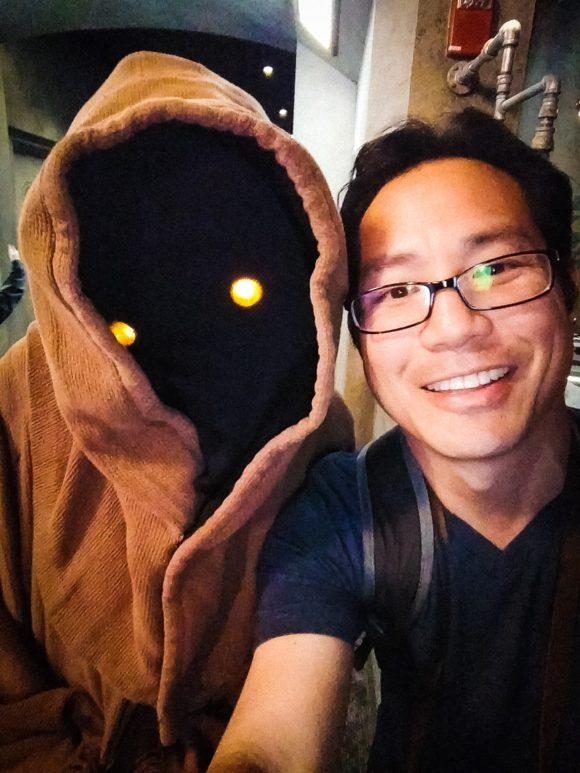 """Selfie with Jawa"" Orlando. 2017"