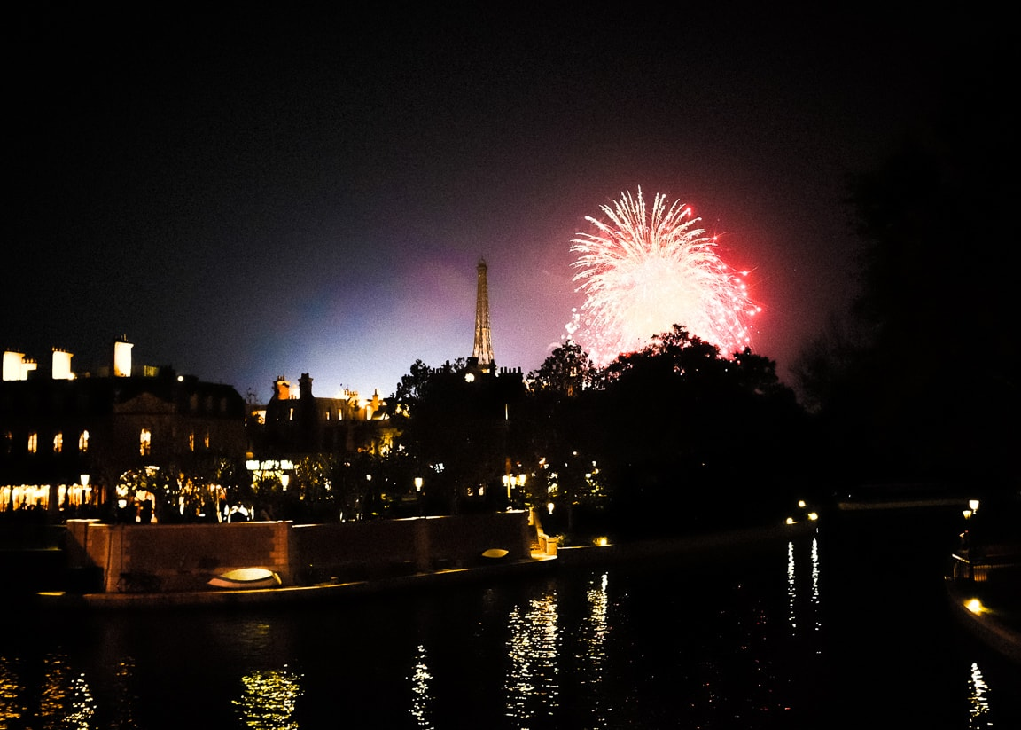 """Fireworks over Paris"" Orlando, 2017"