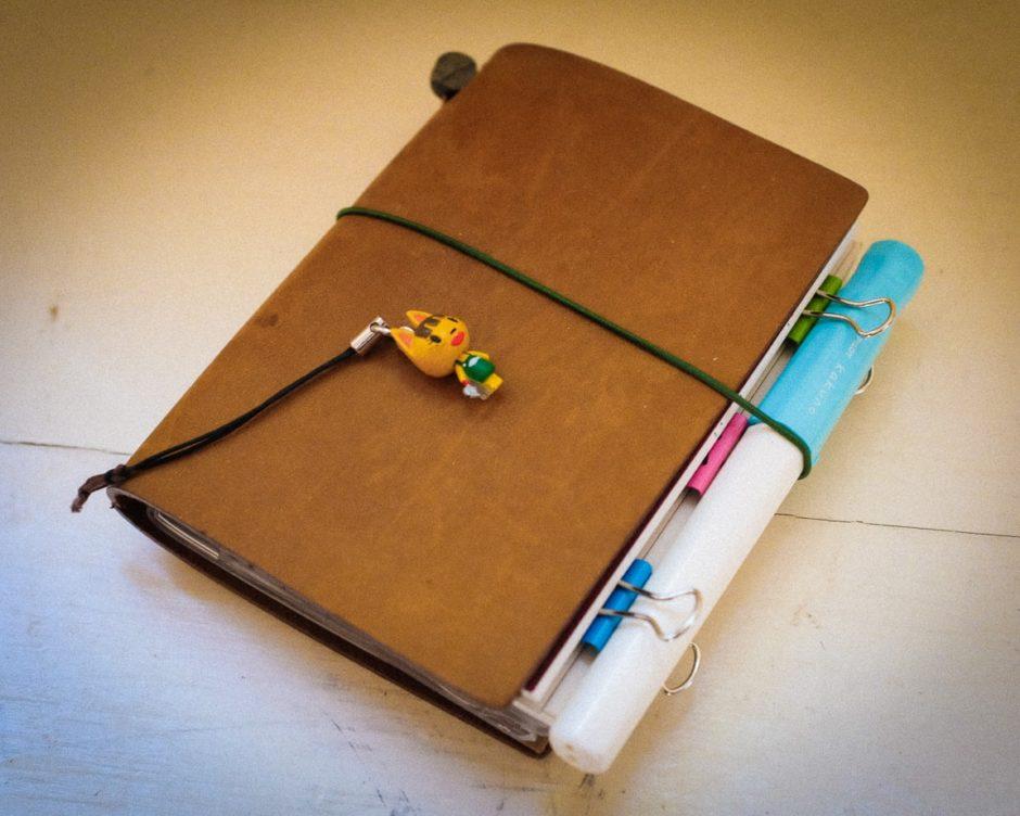 """Kakuno and Traveler's Notebook"" Cedar Park, 2017"