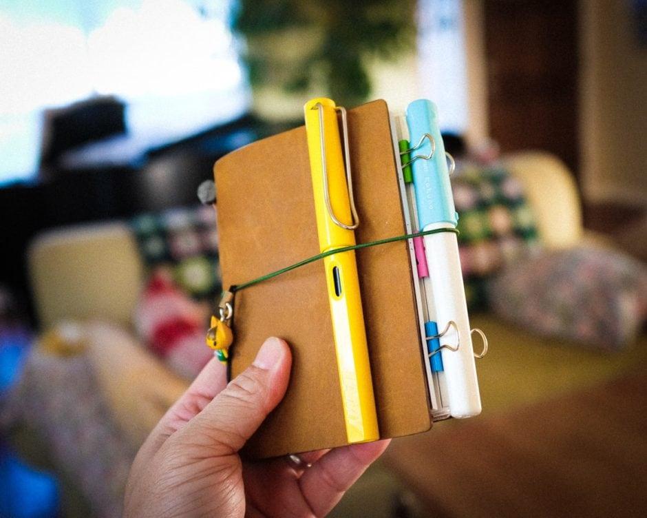 """Notebook and Pens"" Cedar Park, 2017"