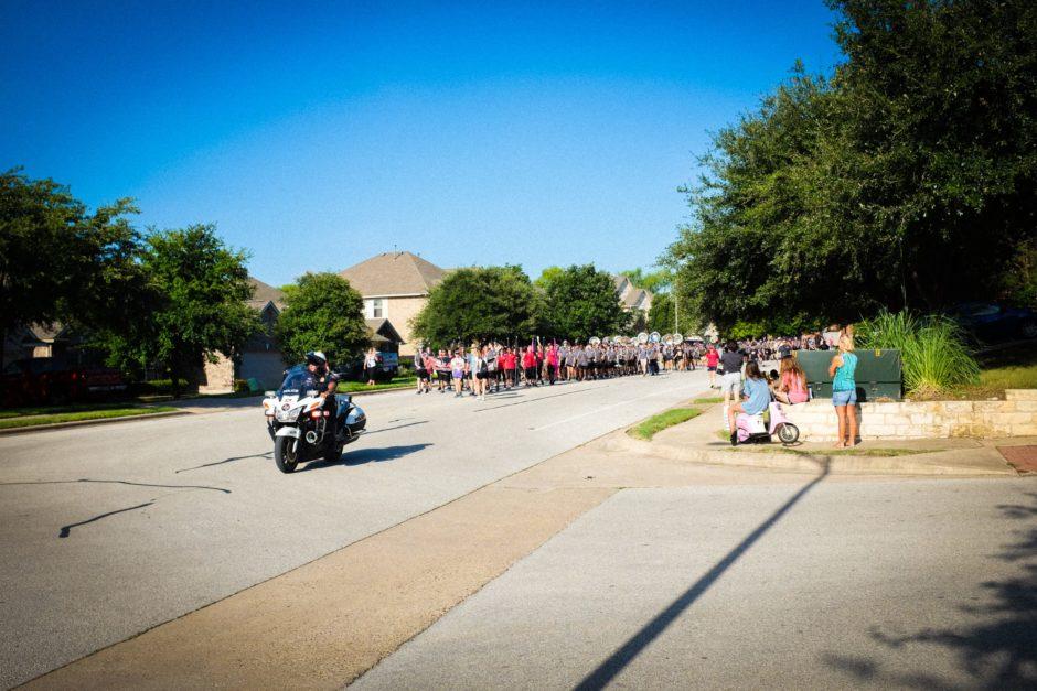 """Marching Band"" Cedar Park, 2017"