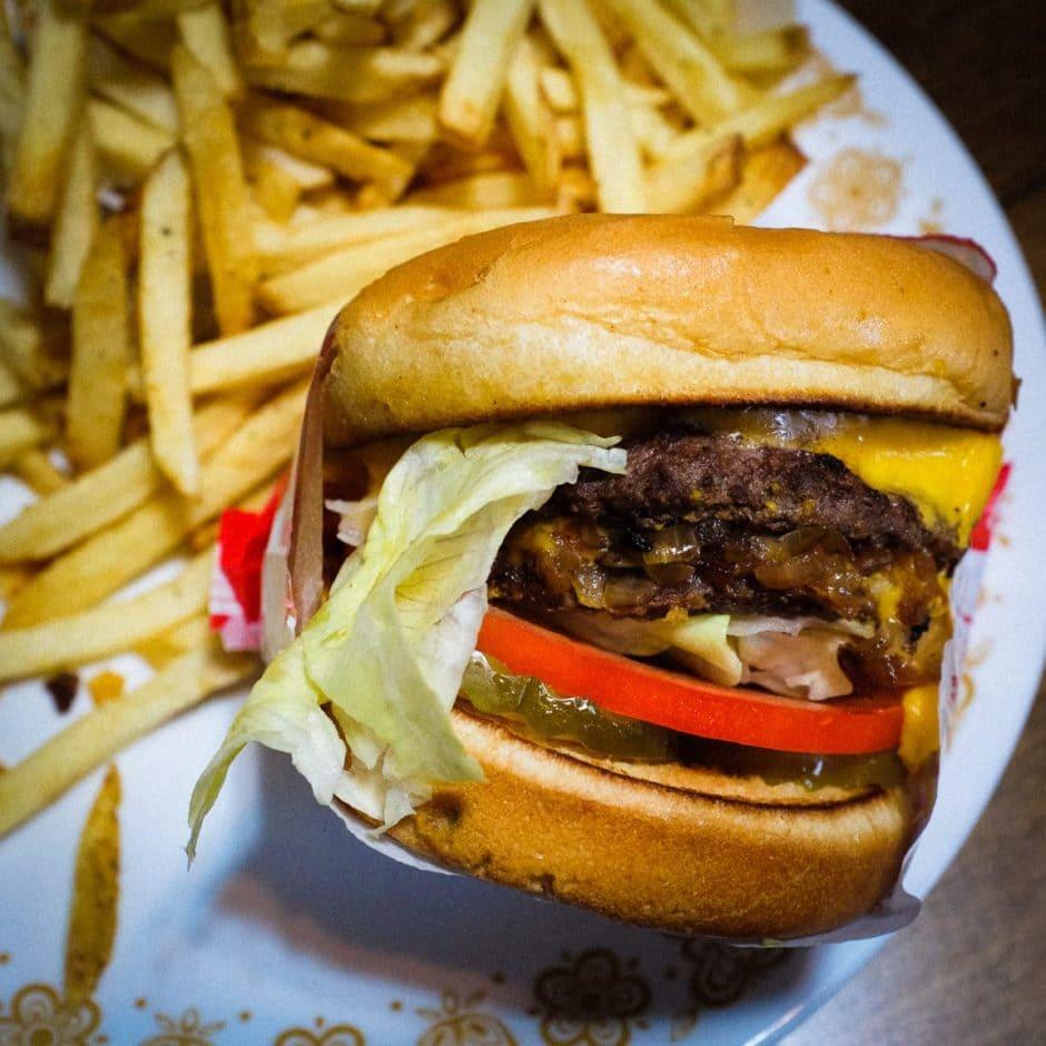 """Burger Time"" Cedar Park, 2017"