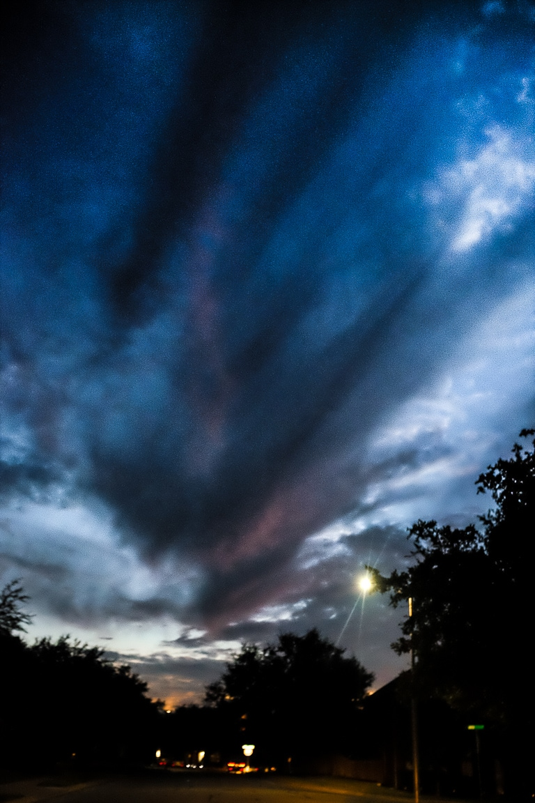 """Last Light"" Cedar Park, 2017"