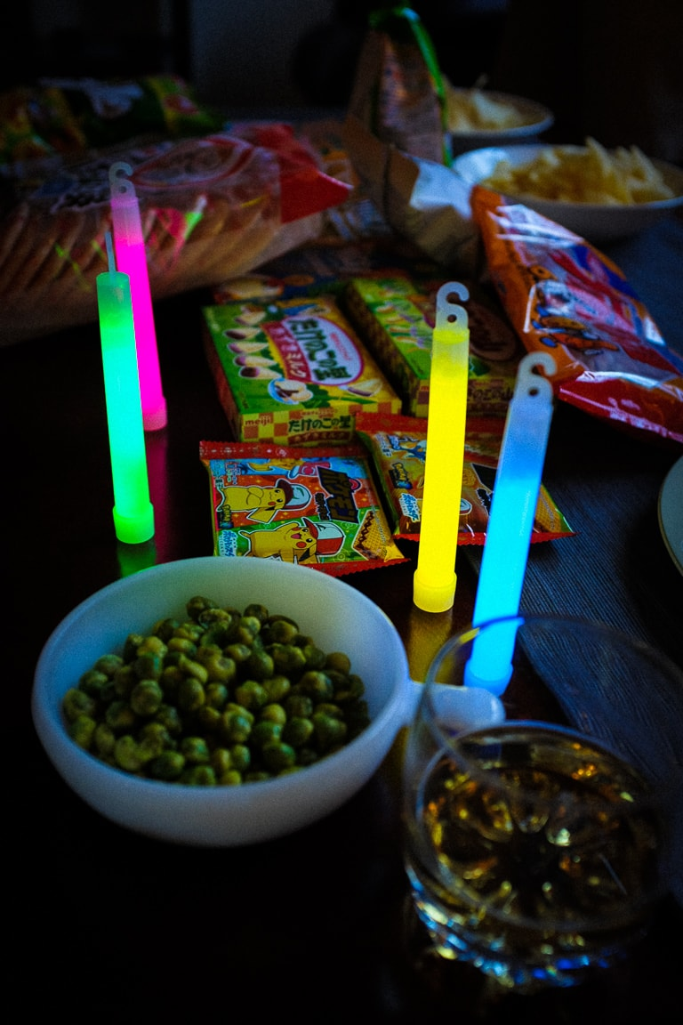 """Snacks and Glow Sticks"" Austin, 2017"