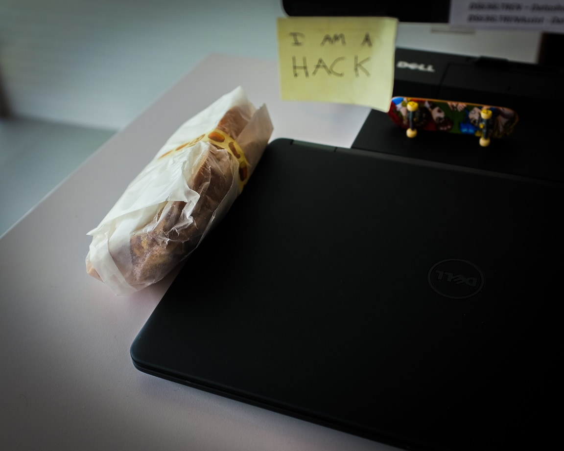 """Laptop Heat"" Austin, 2017"