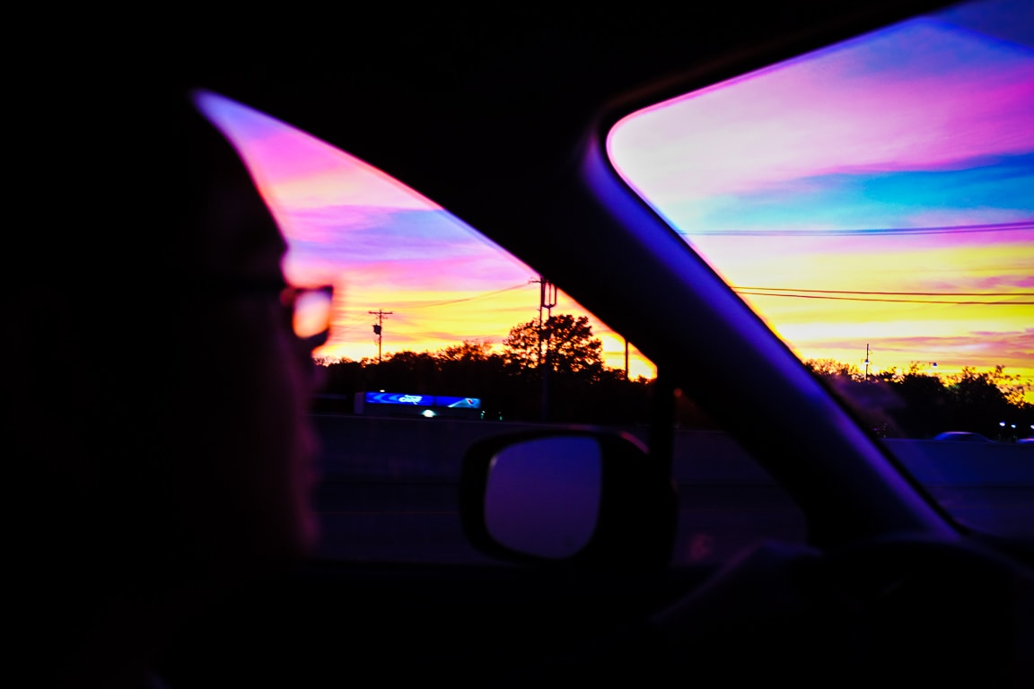 """Sunset Driving"" Austin, 2017"