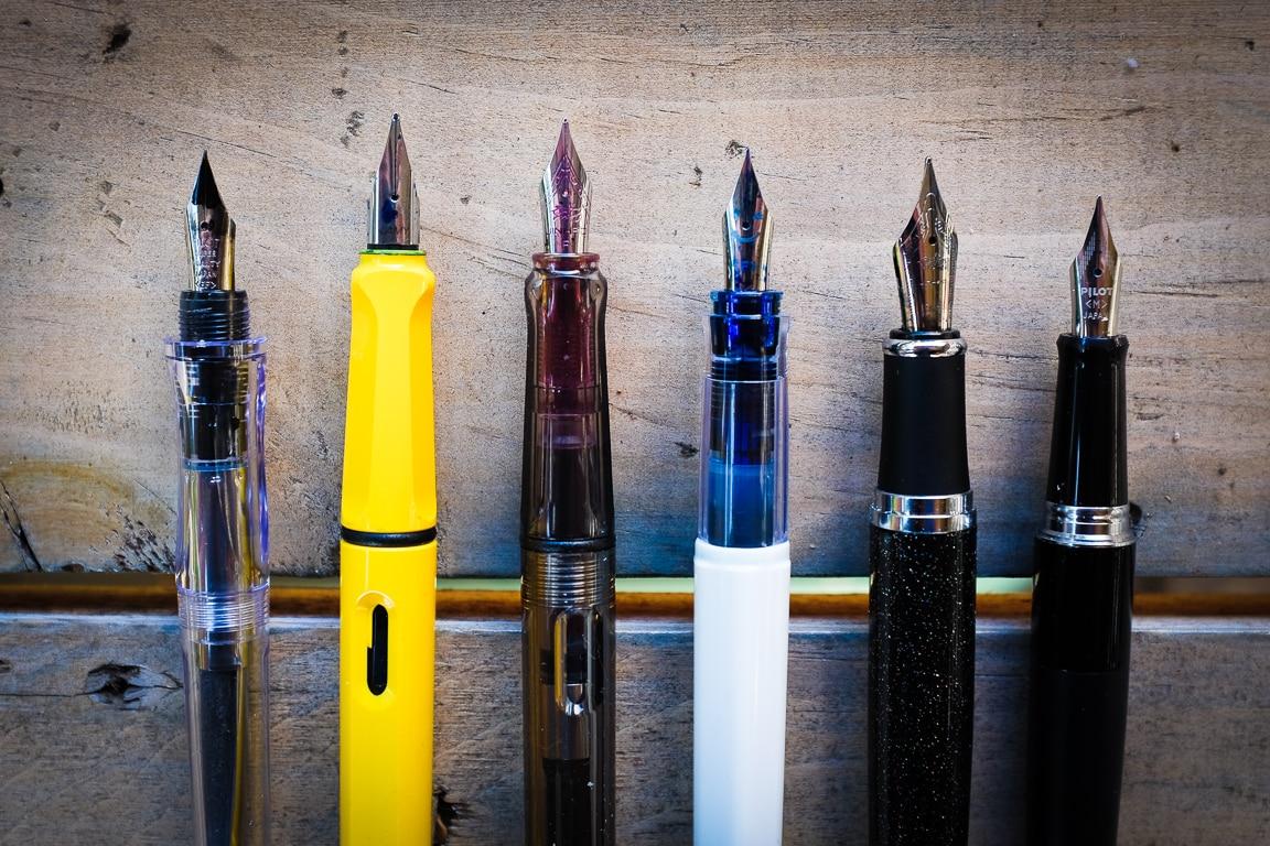 """Fountain Pen Line-up"" Cedar Park, 2017"