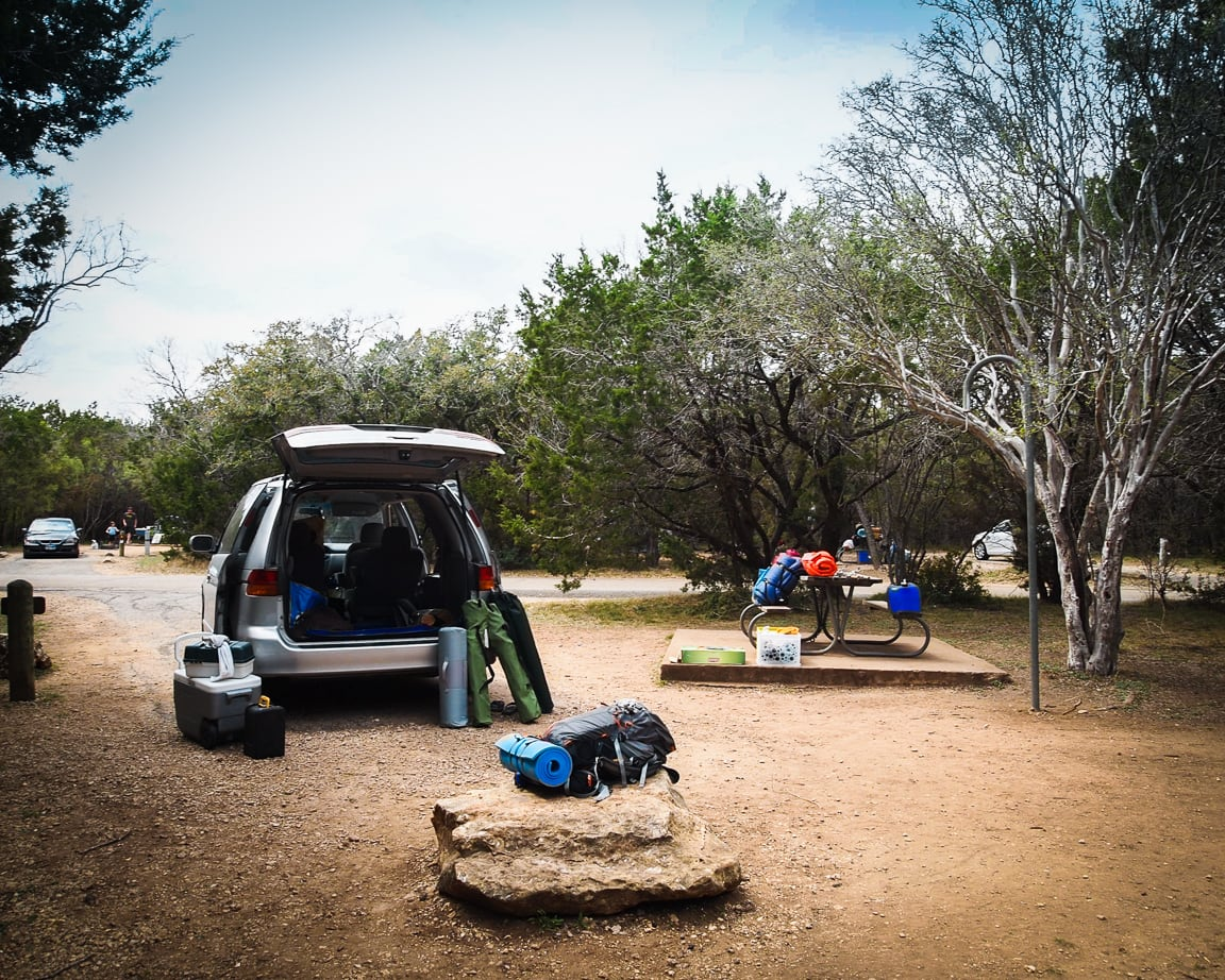 """Car Camping"" Texas, 2017"